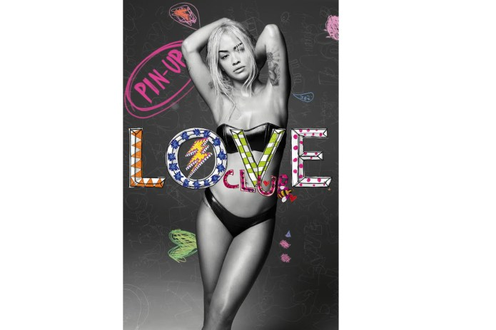 Rita Ora Goes Pin-Up for 'LOVE' Magazine's Latest Centerfold