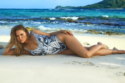 Watch Ronda Rousey Get Bodypainted for Sports Illustrated's Swimsuit Issue