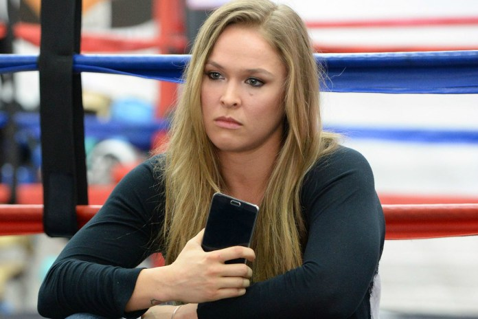 "Ronda Rousey Wants to Trademark ""F*ck Them All"""