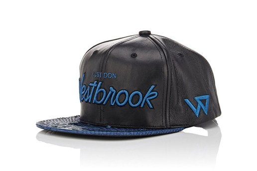 Russell Westbrook & Just Don Release a Pair of Python-Billed Baseball Caps via Barneys New York