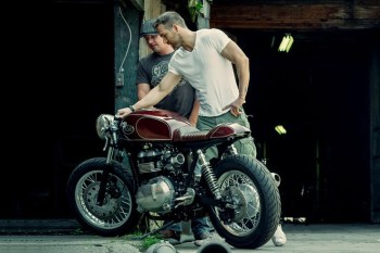 Ryan Reynolds' Triumph Thruxton Is the Love of His Life