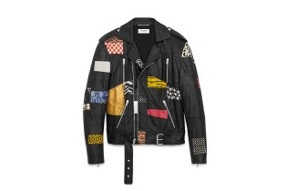 Saint Laurent Patchwork Motorcycle Jacket