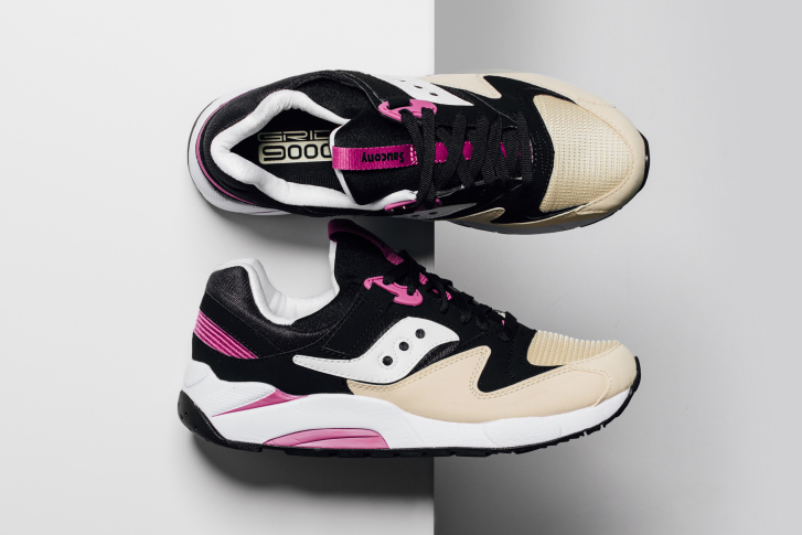 Saucony Releases Grid 9000 in Black/Cream