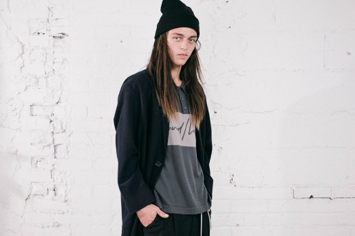 SECOND/LAYER 2016 Fall/Winter Lookbook