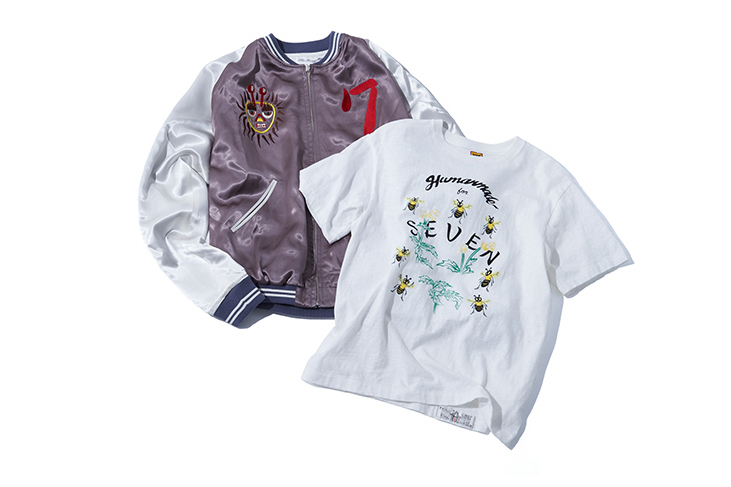 HUMAN MADE Links up With NAOTO's SEVEN for a Capsule Collection