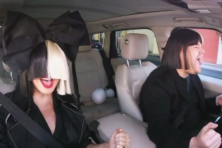 "Sia Joins James Corden for the Latest Episode of ""Carpool Karaoke"""