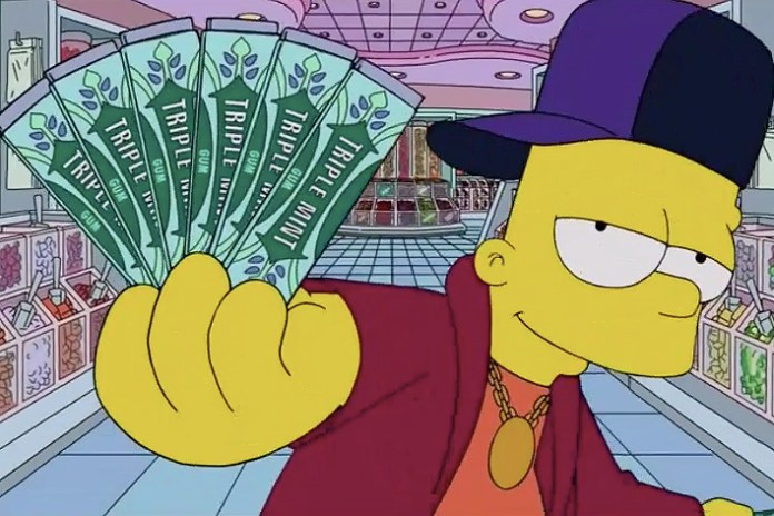 "'The Simpsons' Spoof Drake's ""Started From the Bottom"""