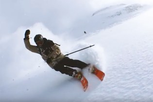 Watch as this Skier Lassos an iPhone Around Himself as he Hits the Slopes