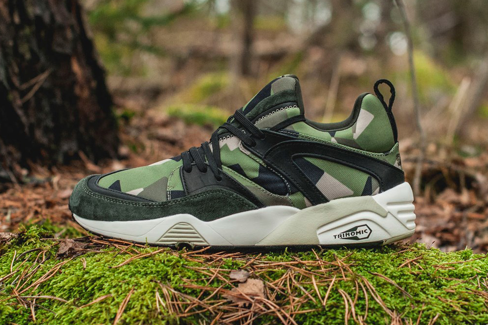 "Sneakersnstuff x PUMA ""Swedish Camo"" Pack"