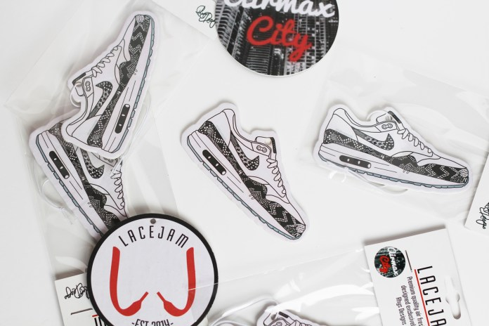 These SneakerToons x LaceJam Air Fresheners Ensure That Your Car Stays Fresh