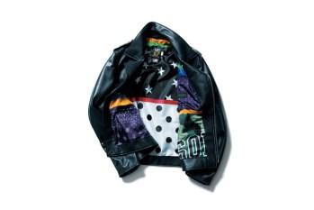 SOPHNET. x Schott NYC Onestar Riders Jacket
