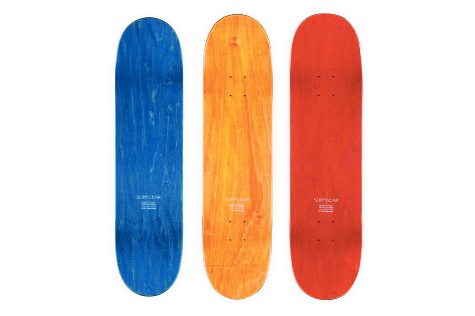 """Streetmachine x Andreas Schmidt and Jens Hüls Funder for Limited Edition """"SURFGEAR"""" Skate Decks"""