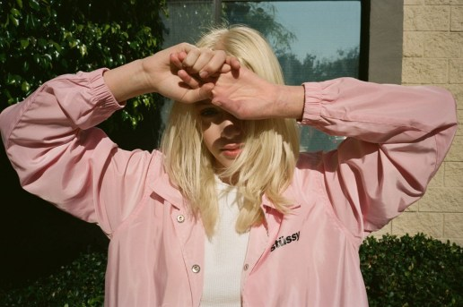 A Behind-The-Scenes Look at the Stussy Women 2016 Spring/Summer Lookbook by Viktor Vauthier