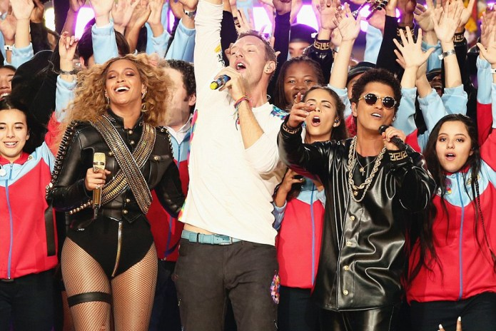 Watch the Superbowl 50 Halftime Show Featuring Coldplay, Beyoncé and Bruno Mars