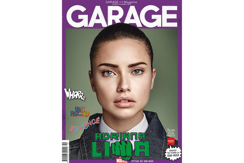 'GARAGE' Imagines Adriana Lima, Candice Swanepoel, Karlie Kloss & More as Marvel Superheroes