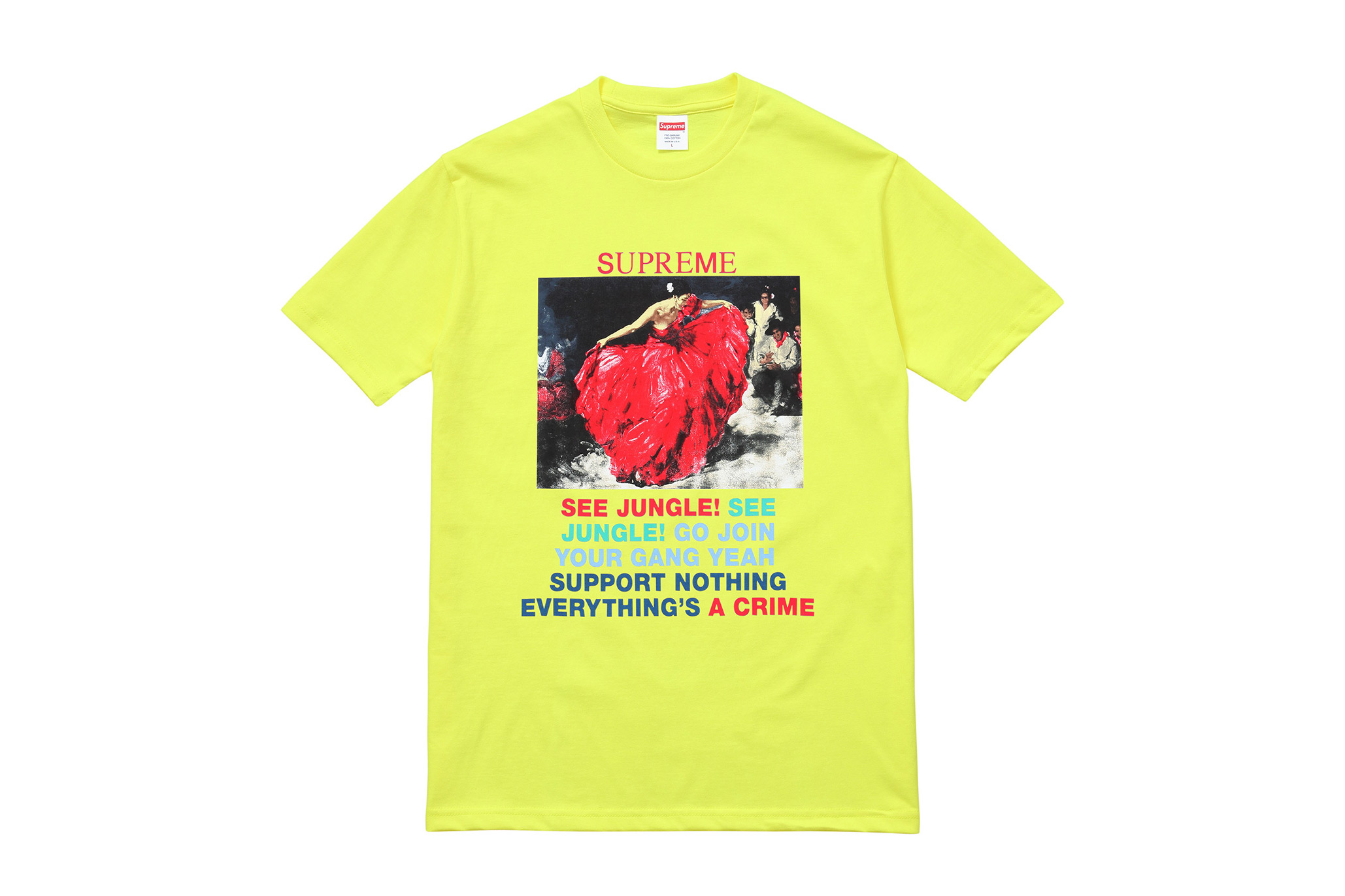 Supreme 2016 spring summer t shirts hypebeast