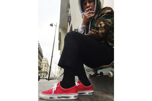 Supreme x Vans Motion Logo Era Collection