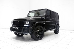 The Mercedes-Benz G500 Gets A Tasteful BRABUS Update