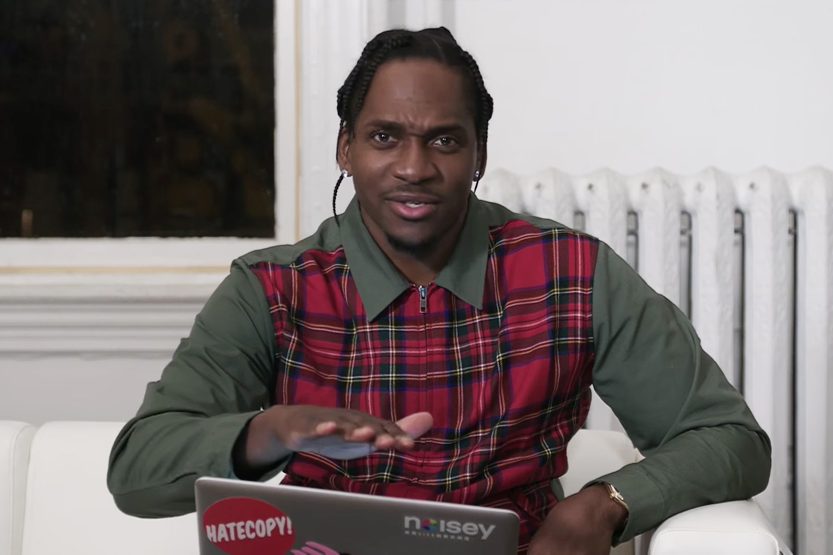 """Pusha T Responds to Fans' """"Grindin"""" YouTube Comments in Noisey's 'The People vs.'"""