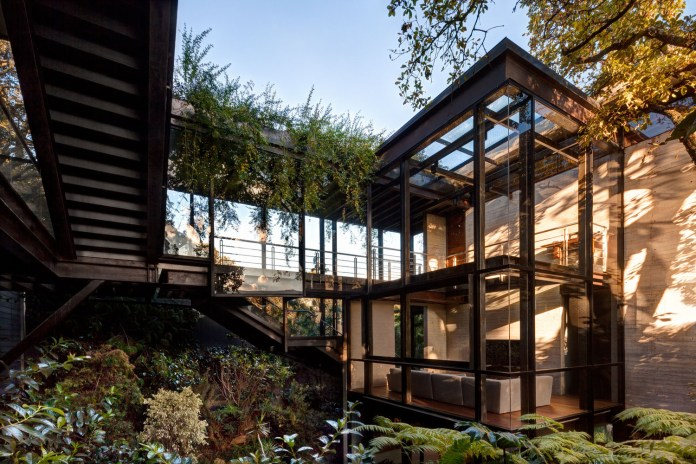 The Tepozcuautla House Makes It Feel as If You're Living Amidst the Forest