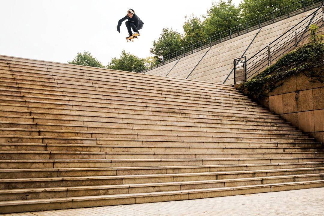 "Watch Aaron ""Jaws"" Homoki Make Skateboarding History at the Lyon 25 Set"
