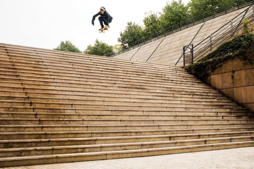 "Watch Aaron ""Jaws"" Homoki Make Skateboarding History at the Lyon 25 Set"