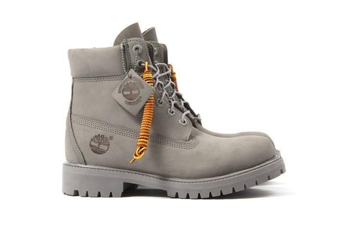 "Timberland Drops a ""Mono Grey"" 6-Inch Boot for the Spring"