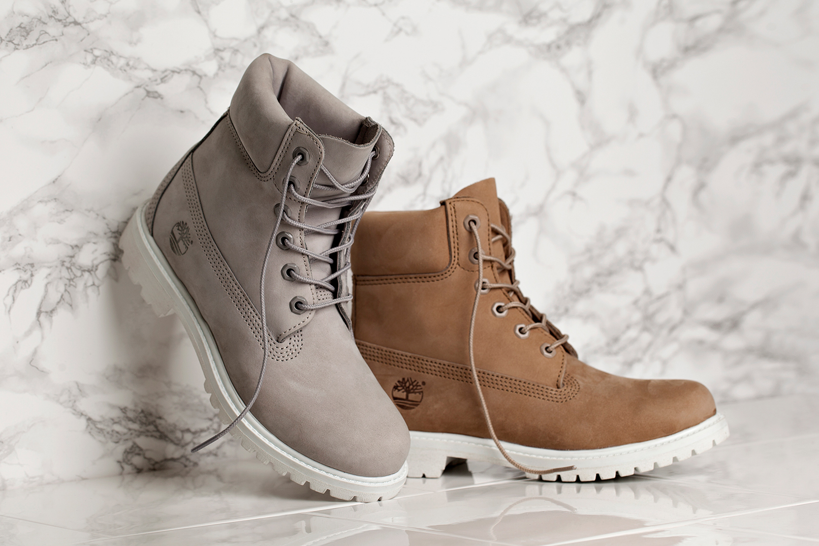 """Timberland Unveils WMNS """"Grey"""" and """"Bone"""" 6-Inch Boot Exclusively for Women"""