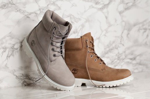 "Timberland Unveils WMNS ""Grey"" and ""Bone"" 6-Inch Boot Exclusively for Women"