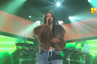 Tinashe & Snakehips Perform on 'Jimmy Kimmel Live' Alongside Chance The Rapper