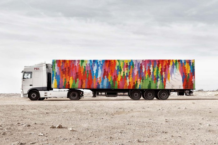 Truck Art Project Turns Into Mobile Gallery