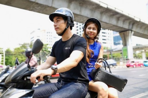 Uber Launches Motorcycle Taxi Service 'UberMOTO'