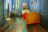 "You Can Now Rent Vincent Van Gogh's ""Bedroom"" on Airbnb"