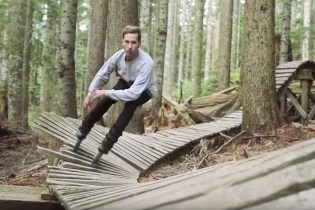 Rollerblading Goes Off-Road in the Forests of Vancouver