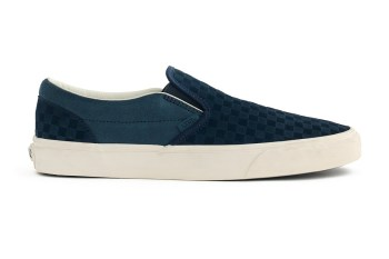 Vans' Checkerboard Slip-On Gets the Suede Treatment by J.Crew