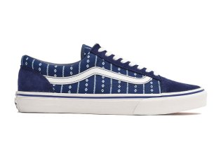 Vans Japan and Design Studio GARAGELAND Celebrate Rich Hues With an All-Indigo Collection