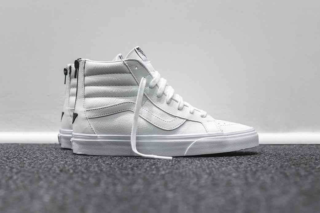 Vans Unveils a Leather-Clad Sk8-Hi Zip for the Spring