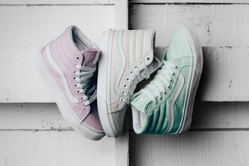 "Vans Women's Sk8-Hi ""Slim"" Pack Features a Trio of Pastel Colorways"
