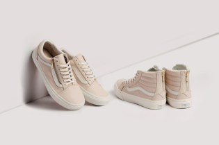 "Vans Women Unveils More Luxe Models with the Zip Pack ""Whispering Pink"""