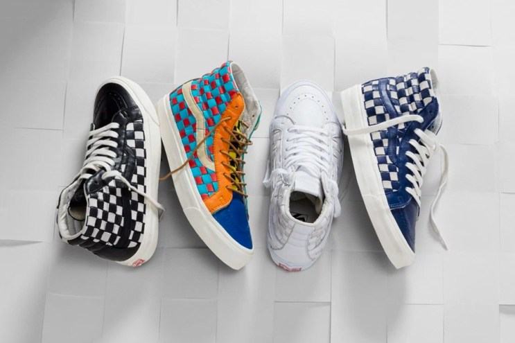 Vault by Vans Unveils Handwoven Checkerboard Footwear and Accessories