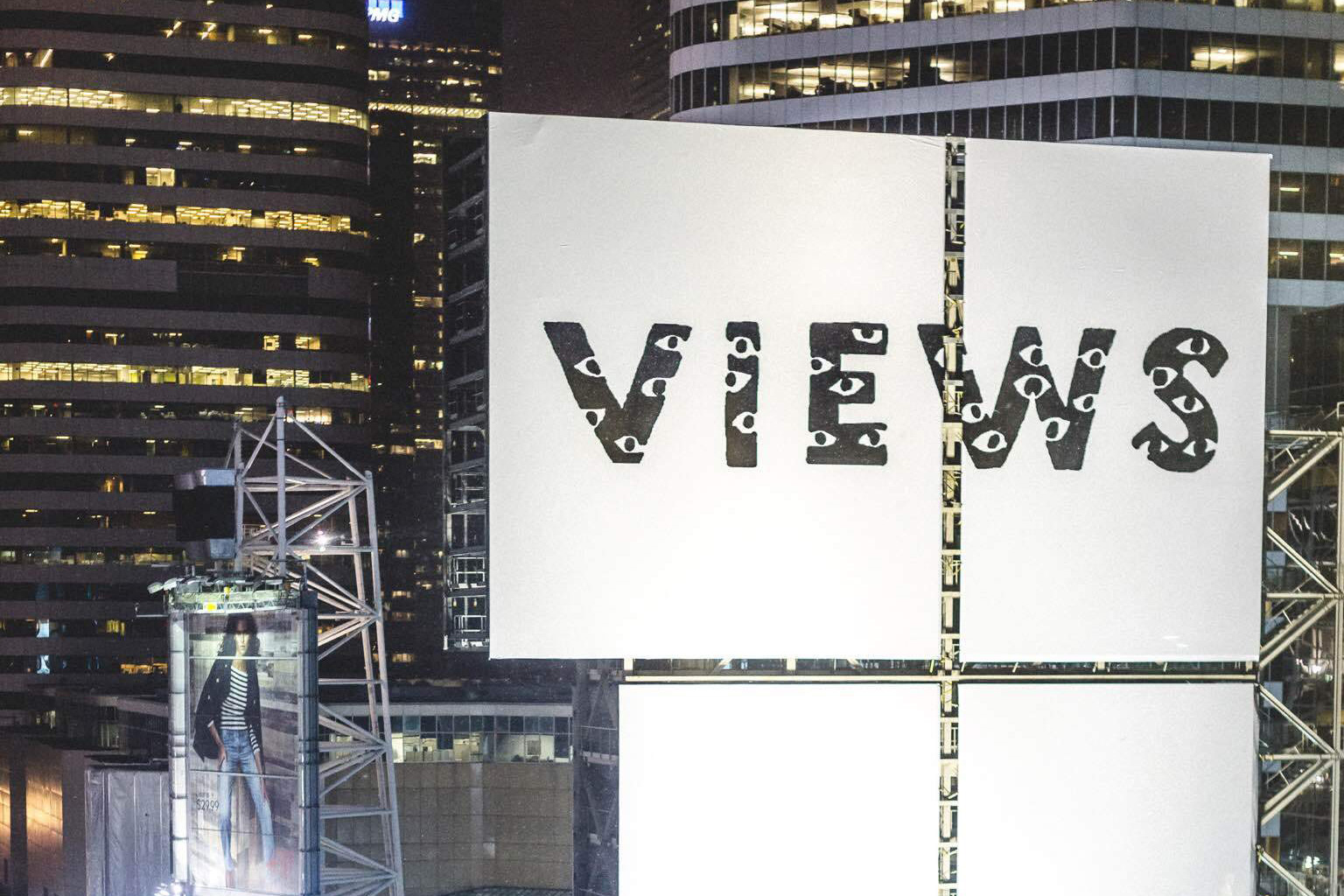 'Views From the 6' Billboard Goes up in Toronto