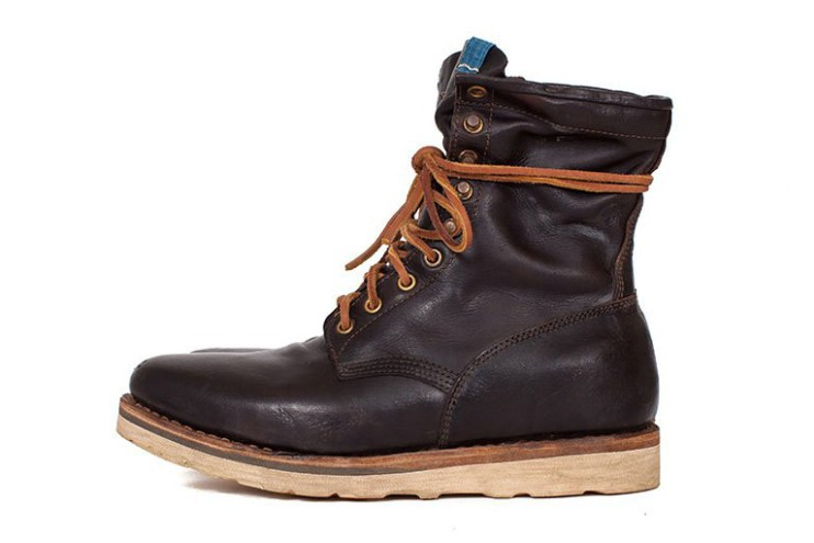 A Closer Look at visvim's Deliberately Aged Powell Boots