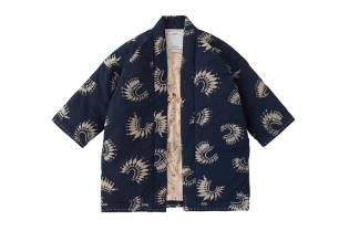 visvim 2016 Spring/Summer SANJURO KIMONO DOWN JKT (KATAZOME)