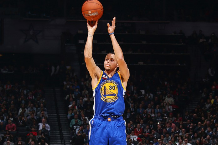 Watch Some of Steph Curry's Insane Three-Pointers From This Season