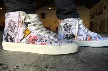 Wes Lang Decorates a Special Pair of Vans OG Sk8-Hi for Its 50th Anniversary