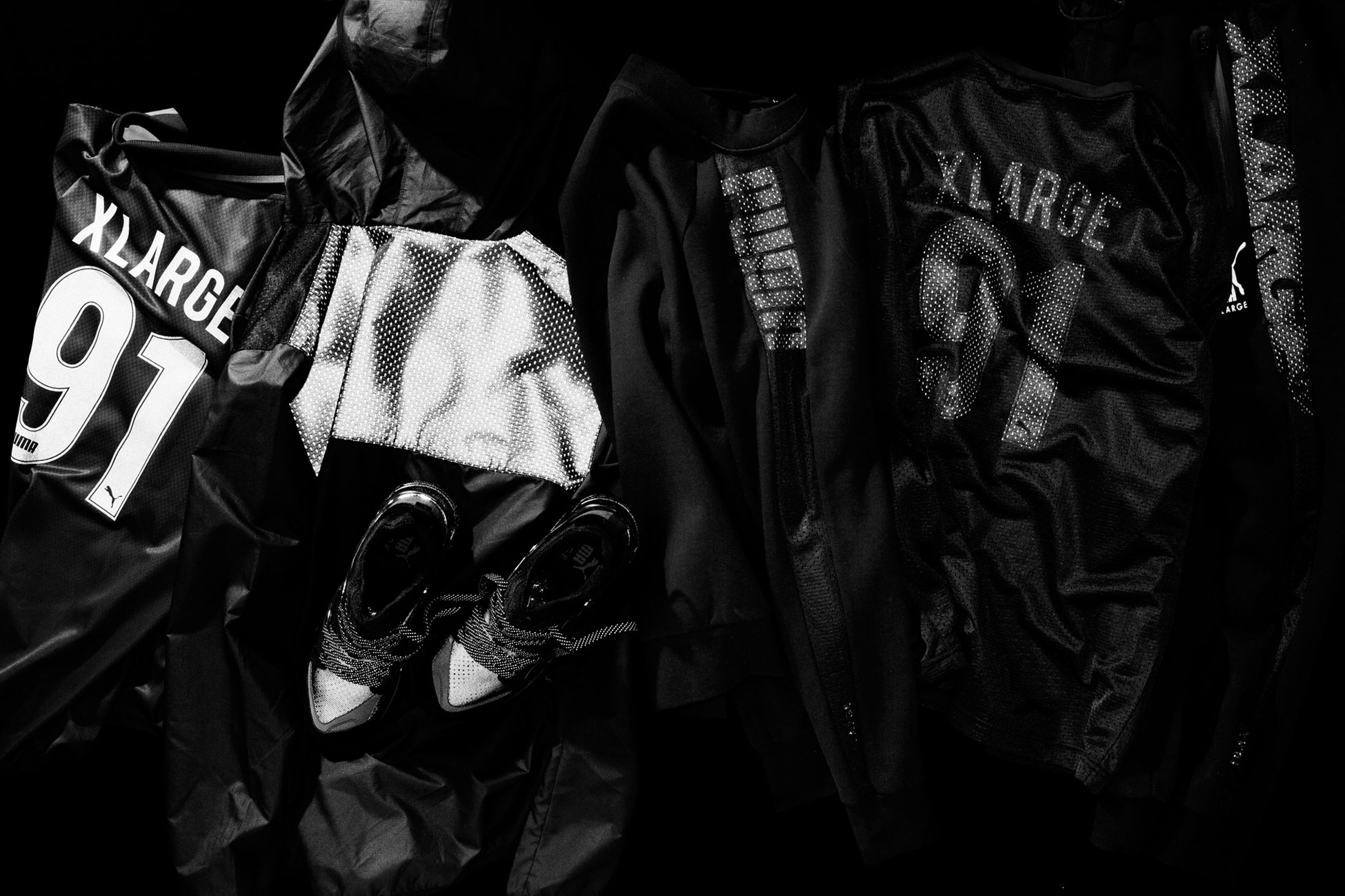 XLARGE and PUMA Go Stealth Mode for Their Latest Collaboration