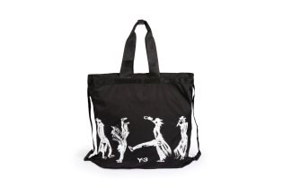 This Y-3 Self-Portrait Tote Totally Shows off Yohji Yamamoto's Handstand Skills