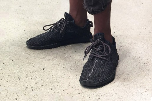 "A First Look at the Yeezy Boost 350 2016 ""Pirate Black"" Restock"