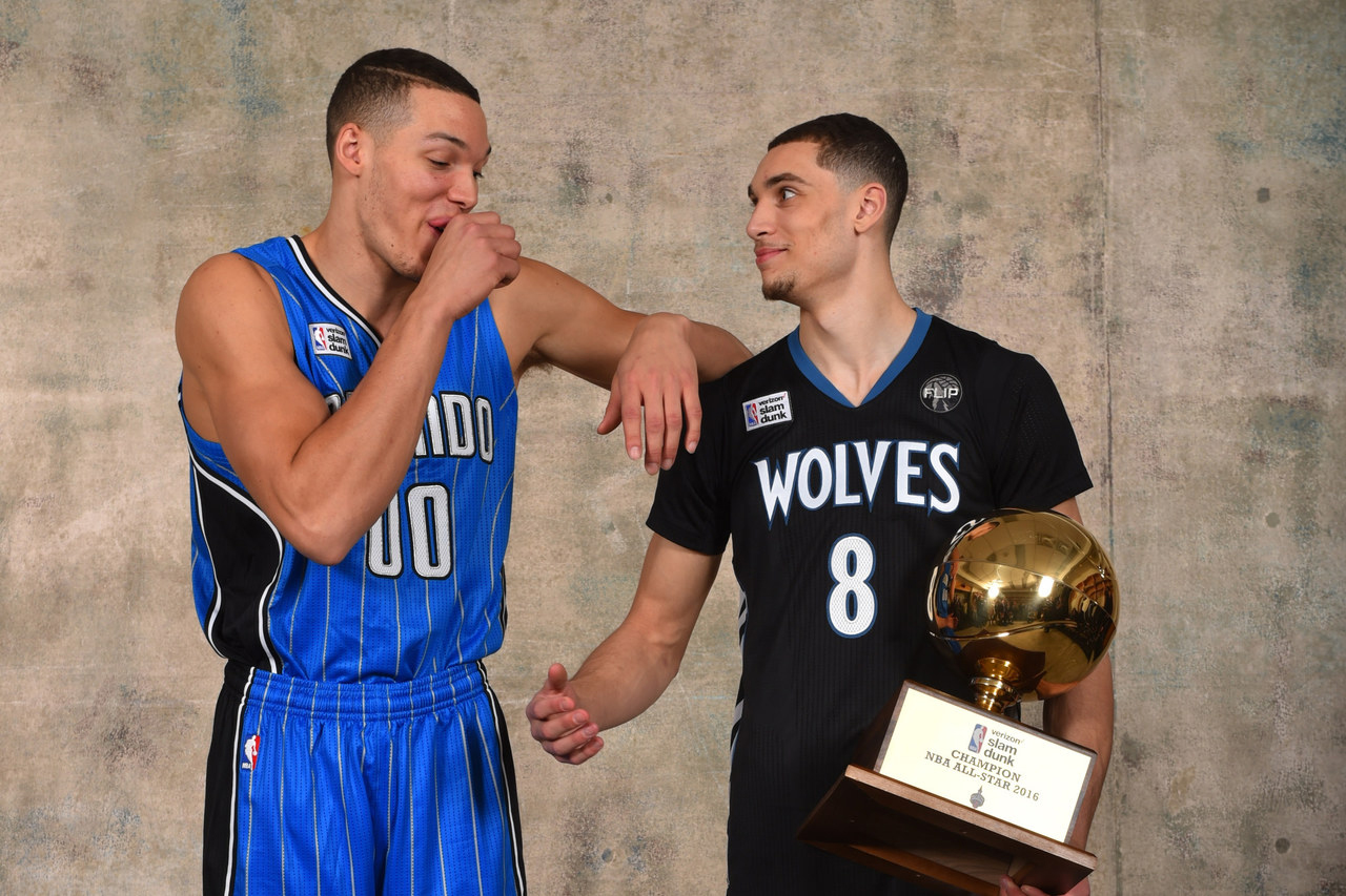 Zach LaVine and Aaron Gordon Talk About Their Historic Dunk Contest