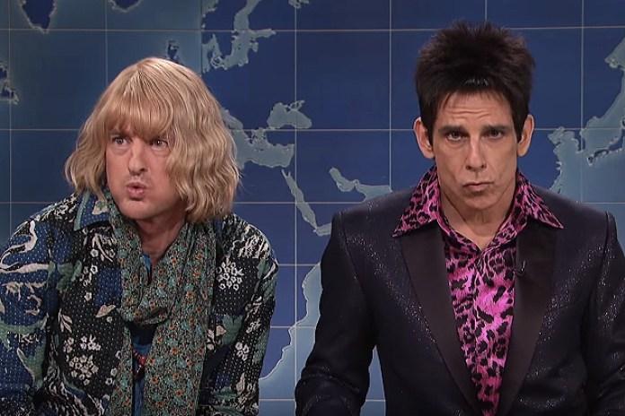 Zoolander's Ben Stiller and Owen Wilson Appear on SNL to Talk Politics